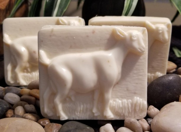 Set Of 3 *Goat Handmade Soap*