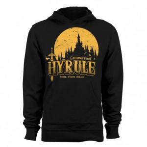 """Zelda """"Greetings From Hyrule"""" Hoodie"""