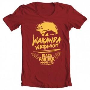 Girls' Black Panther Vibranium Mining Tee