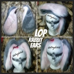LOP BUNNY RABBIT EARS