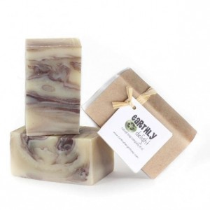 Tea Tree Peppermint Essential Oil Soap Bars | THREE 4 oz. bars