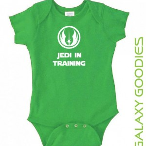 Jedi In Training - Star Wars Baby Onesies