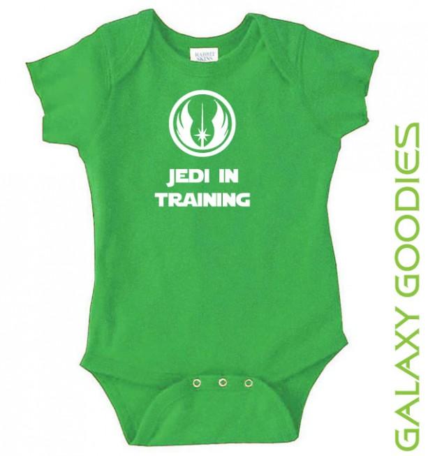 Jedi In Training - Star Wars Baby Onesies