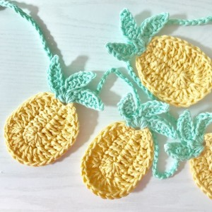 Pineapple Party Garland Bunting Decorati
