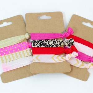 Be Mine, All Mine Valentines Collection of Elastic Hair Bands, Yoga Band, Bracelets, C Michelle Boutique