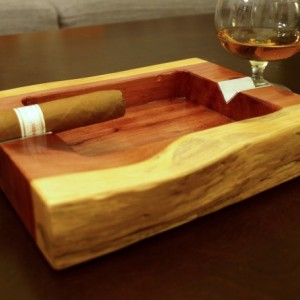 Live Edge Red Cedar Cigar Ashtray