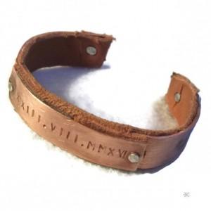 3rd Anniversary Gift Idea Latitude Longitude Bracelet GPS Coordinates Bracelet GPS bracelet Gift