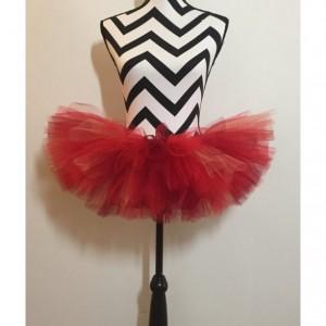 Ruby Red Bird Sparkle Tutu - Teen & Adult Sized