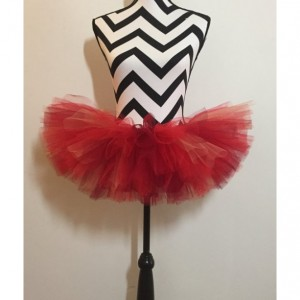 Ruby Red Bird Sparkle Tutu - Children & Pre-Teen Sized