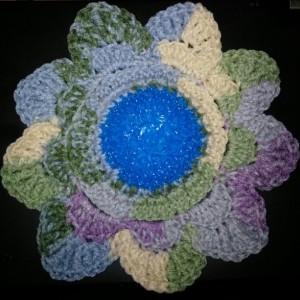 Flower Scrubbie