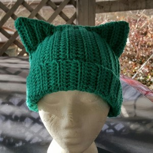 Cat Ears Beanie - Teal