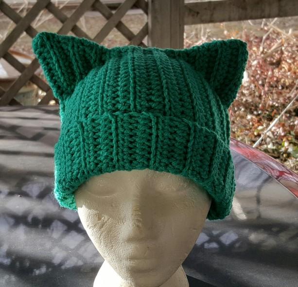 Cat Ears Beanie - Teal