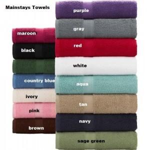 6 piece Set BATHroom towels - Autumn Chickadees - embroidered bath towels fall leaves decor garden birds theme bird watcher gift rustic