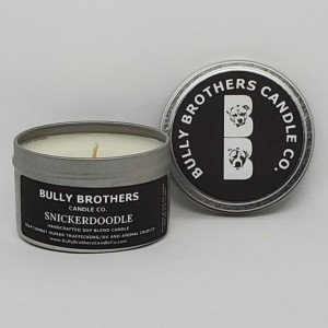 Candles With a Cause - 6 oz tin - Select your scent