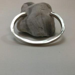 Silver Top-Forged Bracelet - Size 6.5