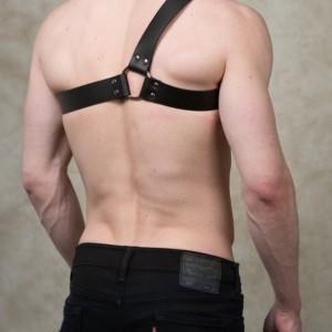 "Asymmetrical Harness - 1.5"" Wide Strap"