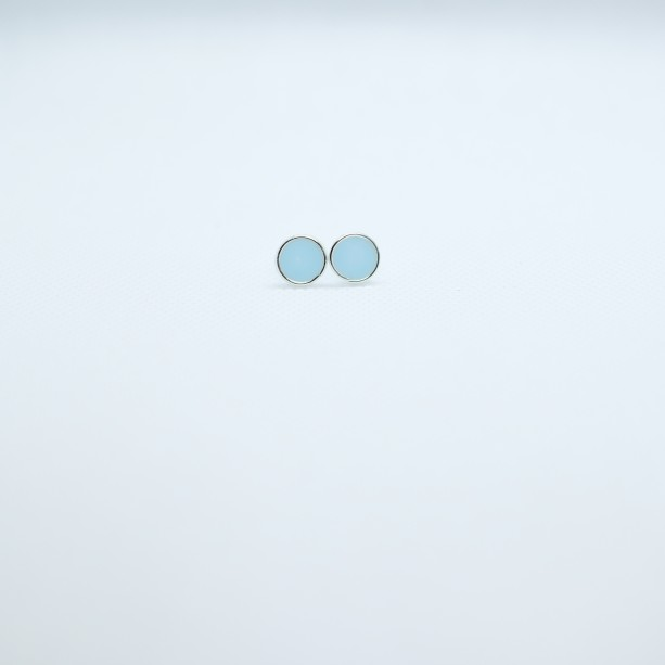 Hypoallergenic White Stud Earrings - Various Designs