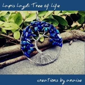 Gemstone Tree of Life Pendants