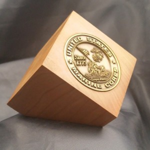Challenge Coin Holder - for any Challenge Coin collector -  display your favorite in this elegant and hand-made holder
