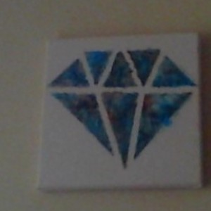 Custom 12x12 Diamond
