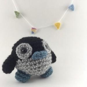 Mini amigurumi penguin, amigurumi penguin, crochet penguin, tiny penguin, penguin,kawaii, small penguin, bird, penguins, under 15