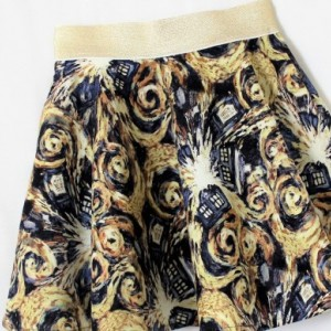 Dr. Who Exploding Tardis Skirt