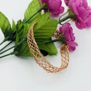 9 Strand Braided Cuff Bracelet