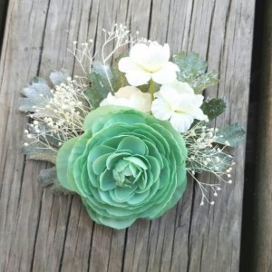 Boho Bridal Fascinator, Rustic Clip, Wedding Hair Comb, Wedding Clip, Wedding Hair Clip, Bridal Hair Comb, floral hair clip,  ranunculus