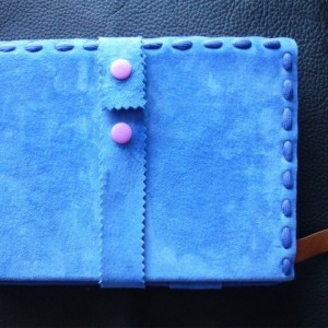 Pigskin suede Journal