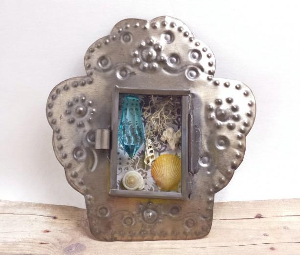 Mini Altar Natural History Mermaid Terrarium Nicho Box