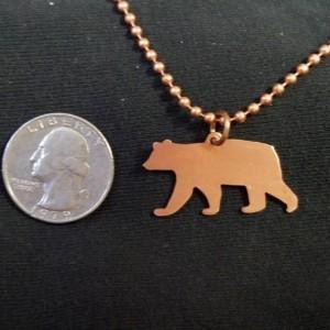 Bear Pendant