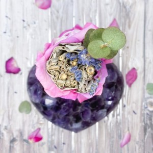 Nurture Your Feminine Energy Sage Wand, Smudge Wand, Meditation,Ritual,Love,Healing, Positive Vibes