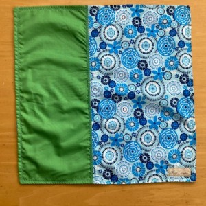 2 Setting Napkin Set - Blue/Pink/Green
