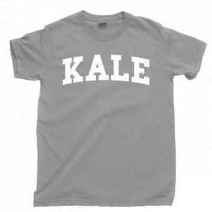 Kale Men's T Shirt, Vegan Vegetarian Veggie Lover Organic Plant Garden Herbivore Unisex Cotton Tee Shirt