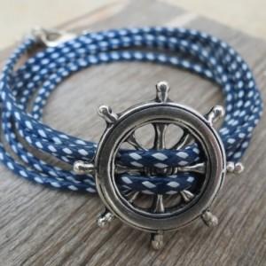 Man Bracelet - Man Nautical Bracelet - Man Jewelry - Man Gift - Father Fay Gift - Husband Gift - Boyfriend Gift - Gift For Him - Vegan