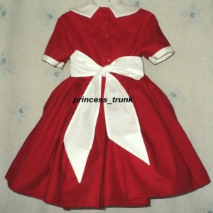 NEW Handmade Movie Little Orphan Annie Red Dress 4 Halloween/Stage Play Sz 12M-14yrs
