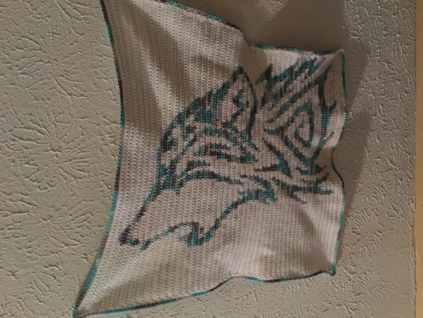 Tribal Wolf Graph-ghan