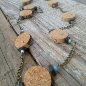 Chain Gang Wine Cork Necklace