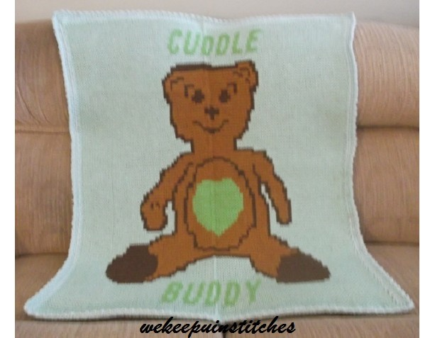 teddy bear blanket
