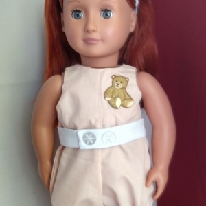 "Custom, hand sewn outfit for your 18"" doll (AG, OG, etc.) clothes - Heirloom Quality Vintage Style"
