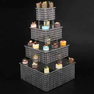 ice froze theme cake Stand. Wedding, Birthday Party, Baby Shower, Bridal Shower, Events 4 Tiers,