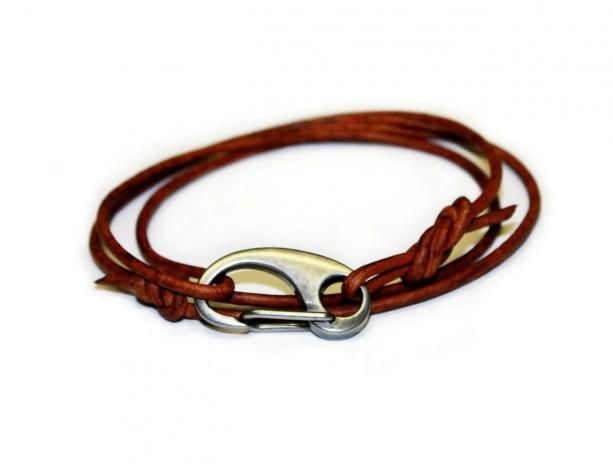 Double Wrap Cord Bracelet