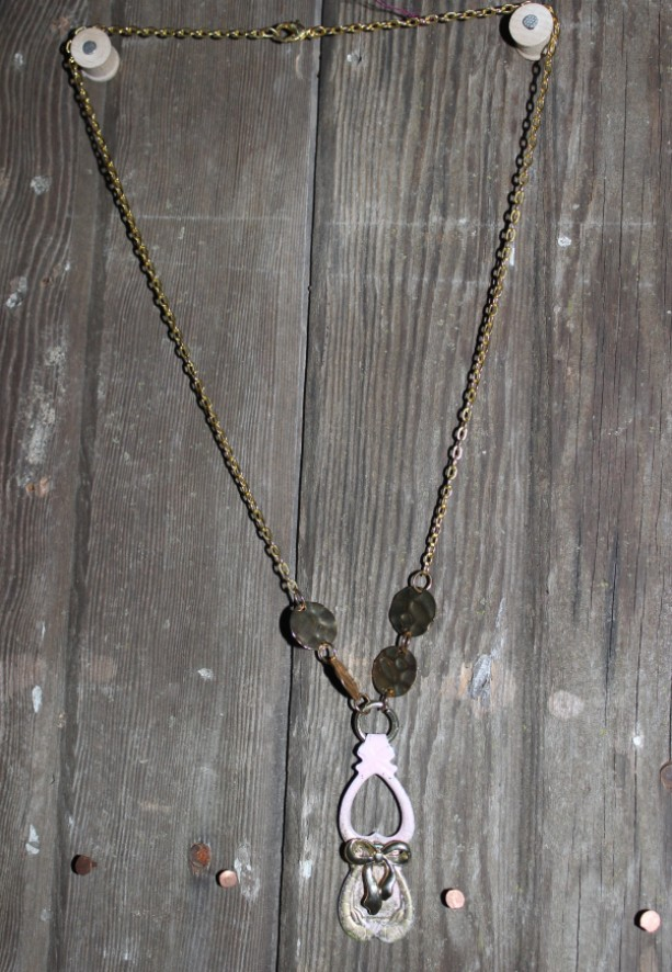 OOAK upcycled spoon necklace
