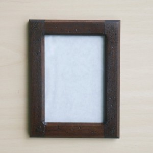 Forever 5 X 7 Distressed  Black Walnut picture frame