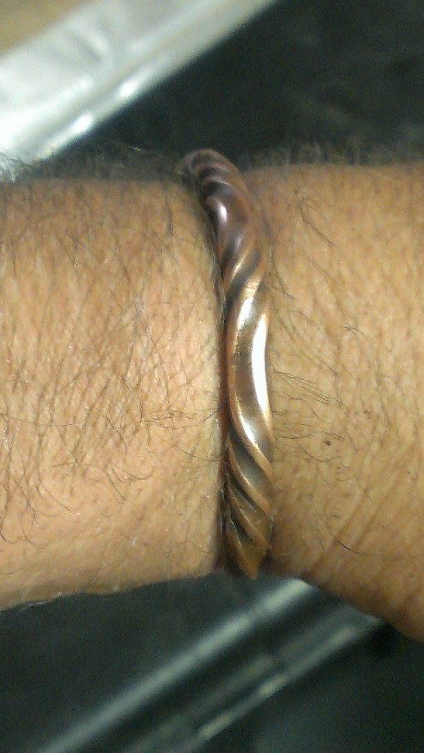 Men's Viking Copper Bracelet