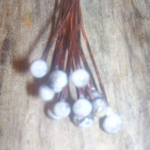 Enameled Copper Headpins White