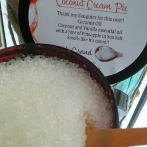 Coconut Cream Pie Body Scrub