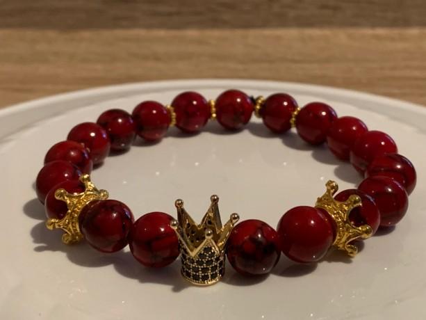 Golden Red Royalty Bracelet