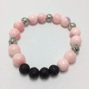 Essential oil Diffuser pink bracelet