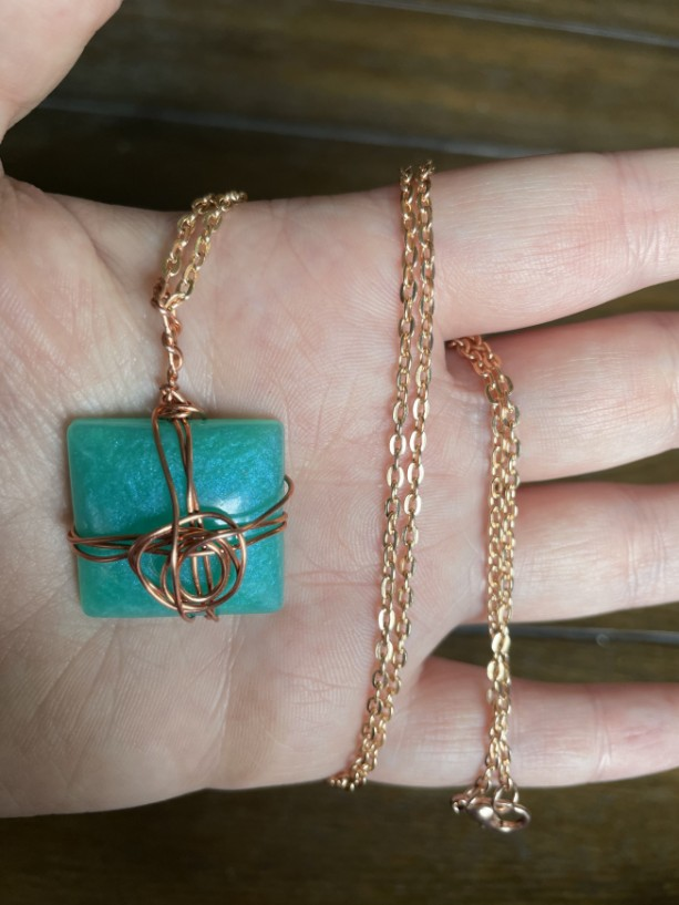 Twisted Wire Necklace